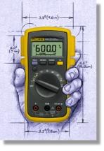 fluke 110 multimeter rh calibratordepot com Product Digital Multimeter Fluke 110 True RMS Multimeter