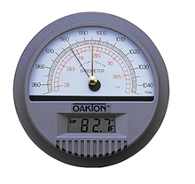Oakton Wall Mounted BarOmeter with Temperature