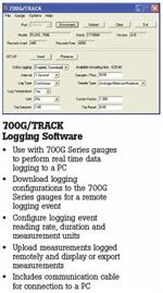 Fluke 700G/Track Data Logging Software Option