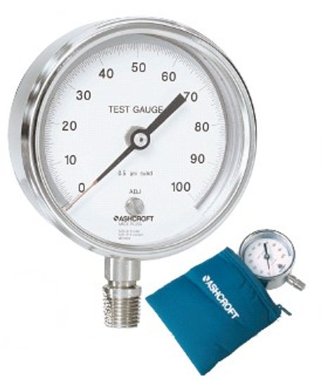 Ashcroft Compound Gauges : Ashcroft model pocket test gauge