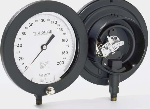 Ashcroft Compound Gauges : Adjustment zero pressure gauge