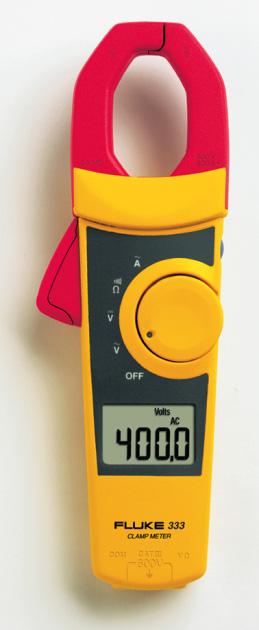 Fluke 333 Clamp Meter : Fluke a clamp meter