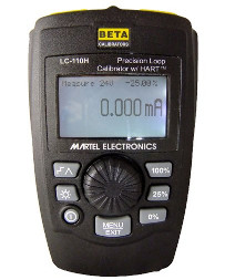 Martel LC110H Loop Calibrator (Hart Version Shown)